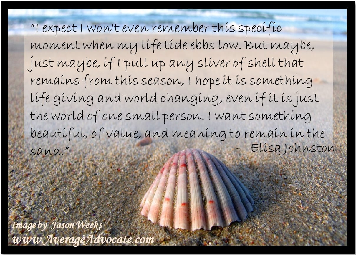 Memories From Sand: Making Christmas Meaningful