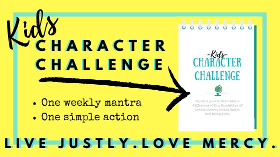Kids Character Challenge Average Advocate